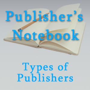 Types of book publishers and publishing methods